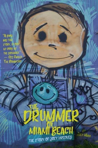 The Drummer of Miami Beach by Joey Maya