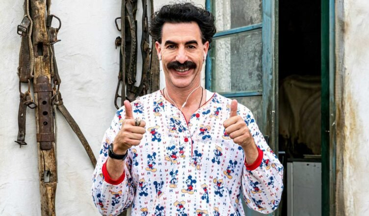 Borat defends Rudy Giuliani after controversial 'sexy-time' scene
